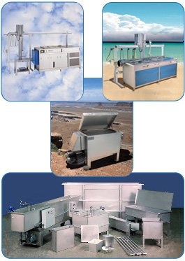Ultrasonic Cleaners, Vapor Degreasers, Hot Air Dryers